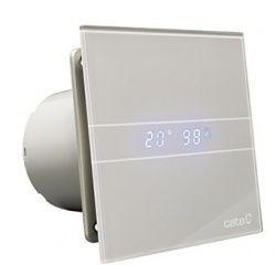 Wentylator łazienkowy E 100 GSTH SILVER Timer Higrostat