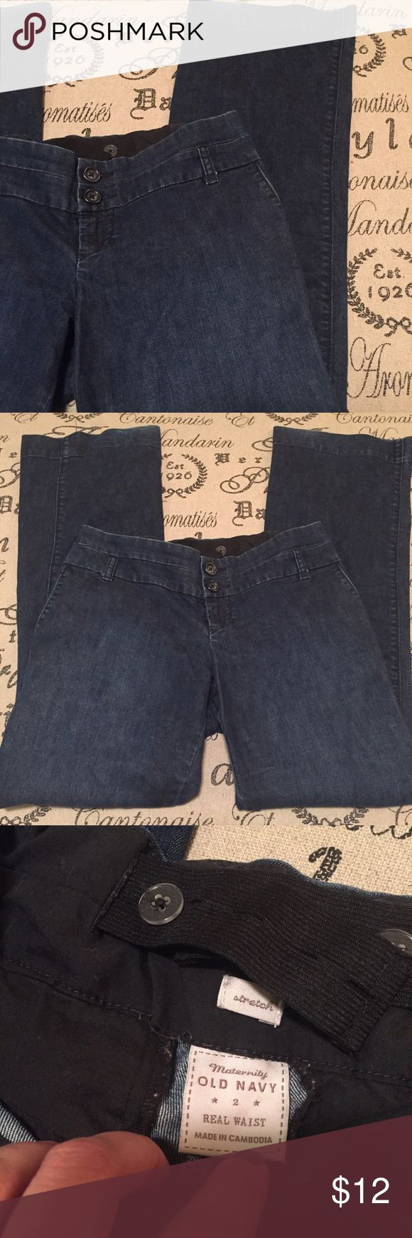 """Maternity jeans size 2 Old Navy 31"""" inseam Great condition Maternity jeans size 2 Old Navy 31"""" inseam. Old Navy Jeans"""
