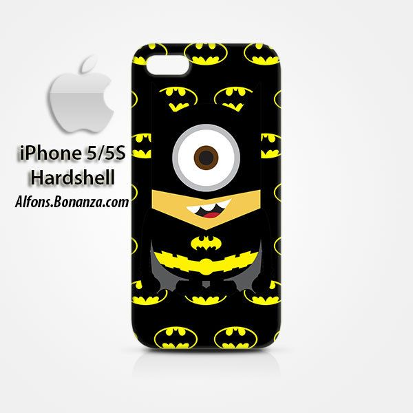 Batman Minions iPhone 5 5s Hardshell Case
