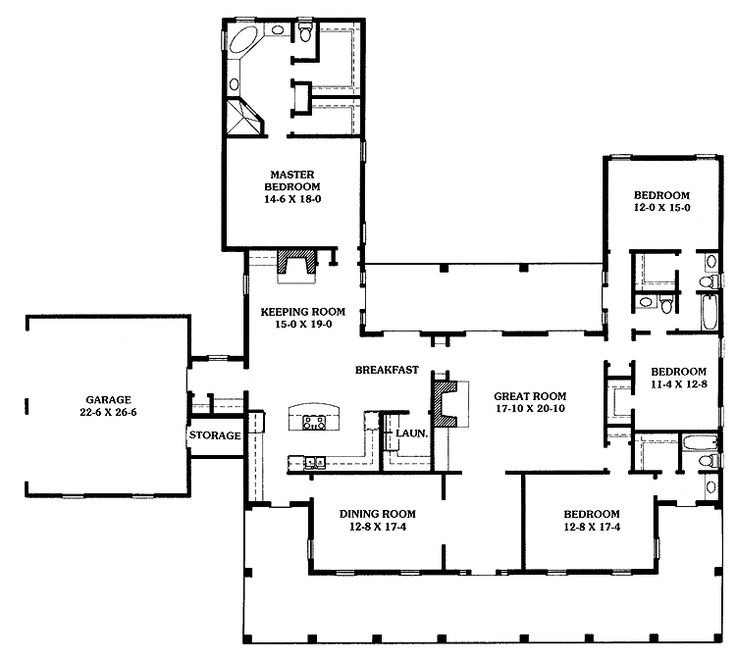 Picture Perfect House Southern Homes Plan My Perfect Dream House