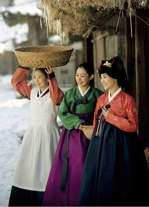 #Hanbok, Korean Traditional Clothes