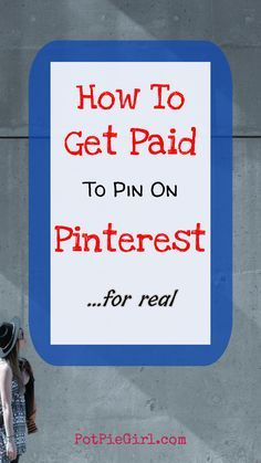 What if YOU could make money pinning on Pinterest? Wouldn't THAT be super cool?! GOOD NEWS: You CAN get paid to pin on Pinterest - Here's How... via @potpiegirl