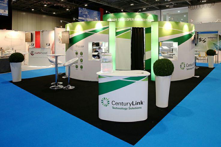 Exhibition Stand Technology : Exhibition stand for savvis centurylink technology