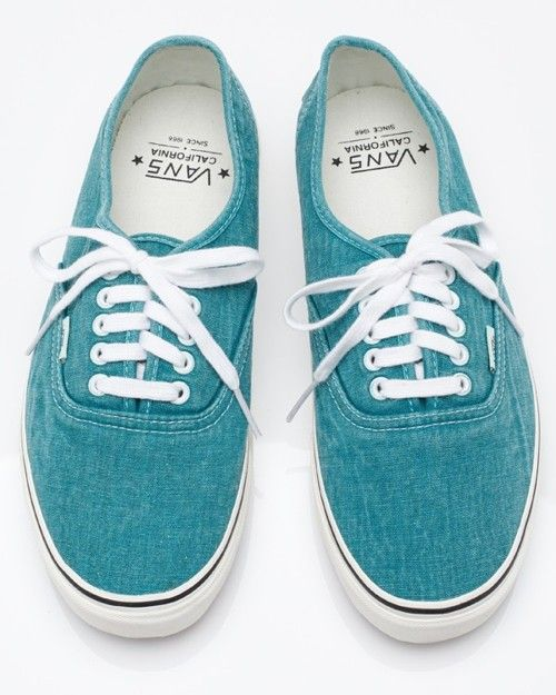 Teal tennis shoes for the guys with khaki pants and white button-ups and teal ties. Just an idea. @April Riggins