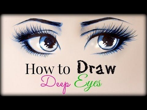 Best 25 eye drawing tutorials ideas on pinterest cartoon eyes getlinkyoutube drawing tutorial how to draw and color deep eyes ccuart Choice Image