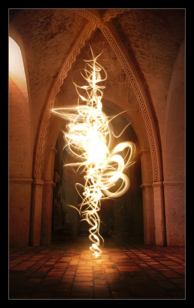 There is More to a Soul Than What Others See... By Artist Colleen Coble, Fire Dancer...