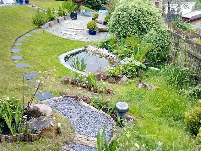Garden starting to look lush, but needs mote colour