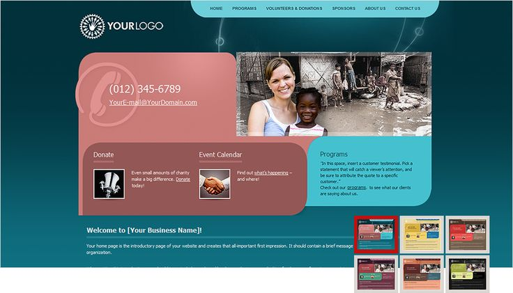 How to create a free website | NGO Website Templates | Pinterest