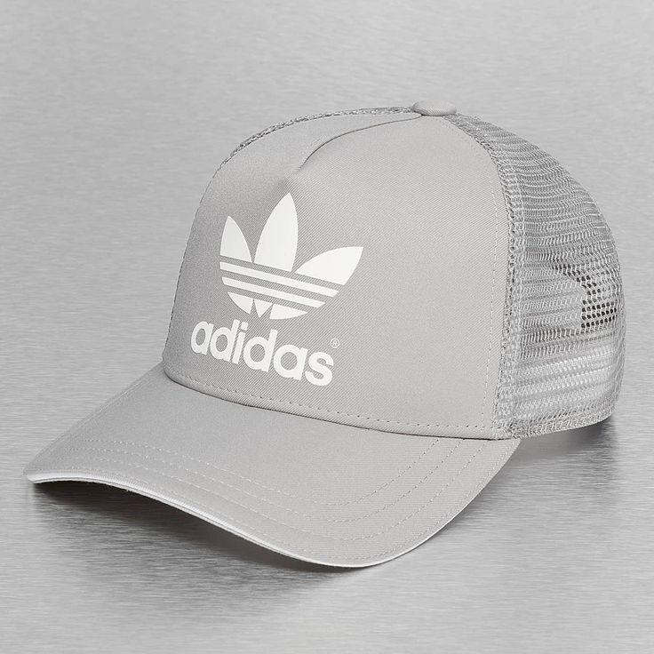 Adidas trucker cap grijs