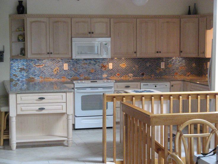 Fish Tiles Kitchen