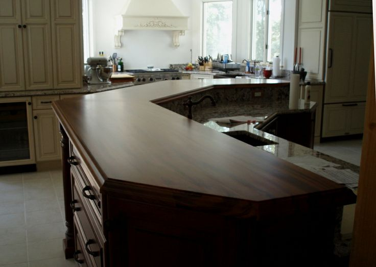 Premium Wide Plank Tigerwood Bar Top Designed By Creative Kitchen U0026 Baths  In Mashpee,