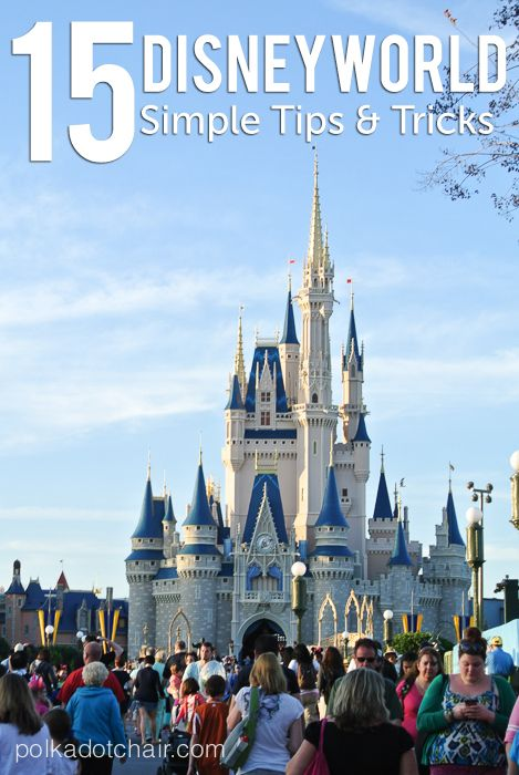 15 Simple Tips and Tricks from a Disney Annual Pass holder, to help you make the most of Disneyworld Vacation