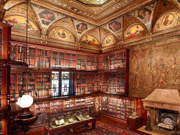 """The outside may not look like much, but the inside of New York City's Morgan Library and Museum is like something you'd find in a much-older European town. It was originally the private collection of super-rich banker J.P. Morgan, and it houses art, rare books … It was built between 1902 and 1906, but it wasn't until 1924 that his son, Jack, realized that he was sitting on a collection that was too important to remain private."""