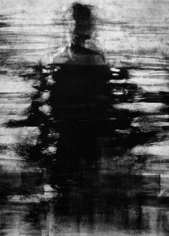 Spukende Abbildung Print launisch dunkle Kunst von ClaraLieuFineArt