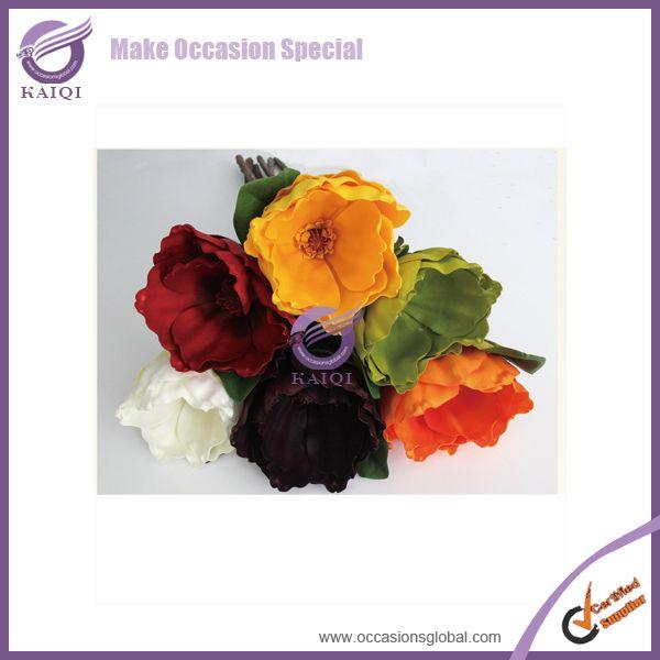 #18290 mangnolia paper flower/ cheap artificial flower/plastic flower