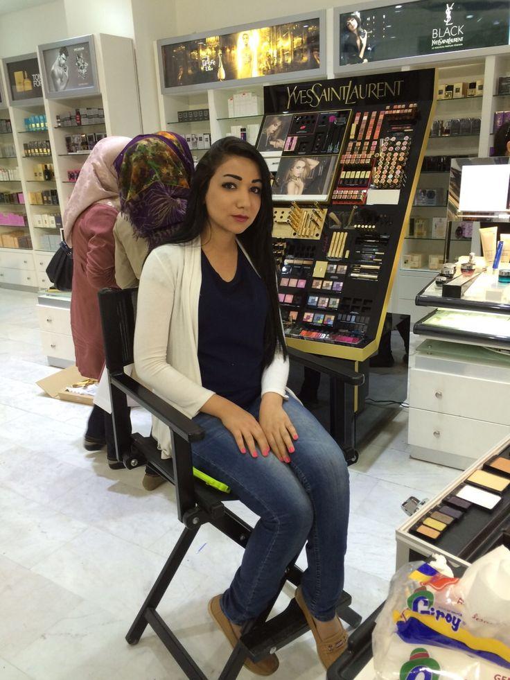 من فعاليات اليوم فرع #ضفاف_بغداد المنصور مول. نستقبلكم ل١١ ليلا #لانكوم #العراق #جمال from today event #DBC mansur mall. Open till 11pm #lancome #iraq #love #follow #amazing #time