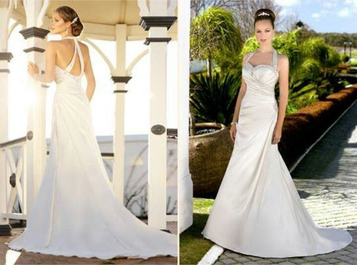 22 Best Halter Style Wedding Dresses Images On Pinterest