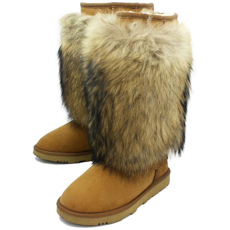 KOS Women's Sienna Tall Premium Australian Twin-Faced Sheepskin Fur Fashion Boot -- See this great product.