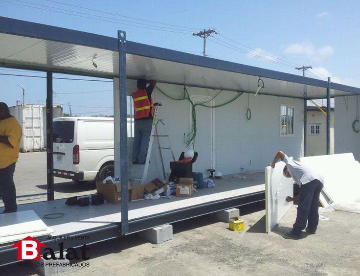 Construcci n de m dulo prefabricado de 12 metros panam for Construccion de modulos comerciales