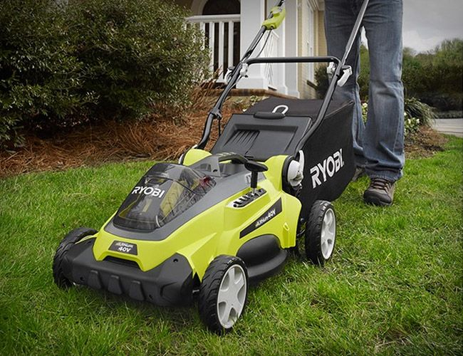 Innovative - Ryobi 40V Cordless Mower runs on a Li-ion battery for $399 via gearpatrol.com