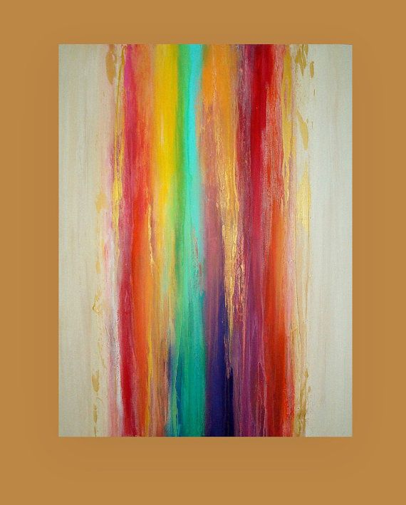 Art Acrylic Abstract Painting Original Canvas By Orabirenbaumart Abstract Painting In  Pinterest Painting Art And Abstract Art