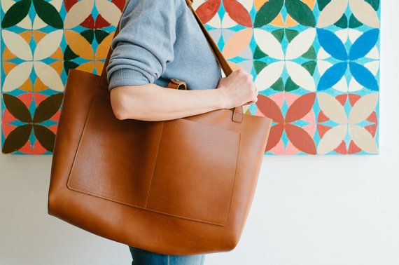 Nomad XL Weekender Tote by NomadLeatherwork on Etsy
