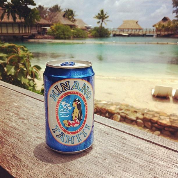 @kellieblinco: #beer #tahiti