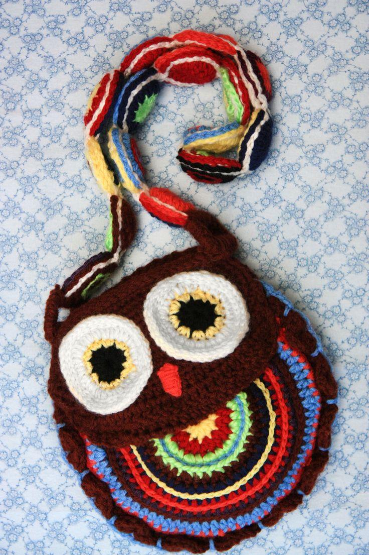 The 25 best diy crochet owl purse pattern ideas on pinterest crochet owl purse bankloansurffo Image collections