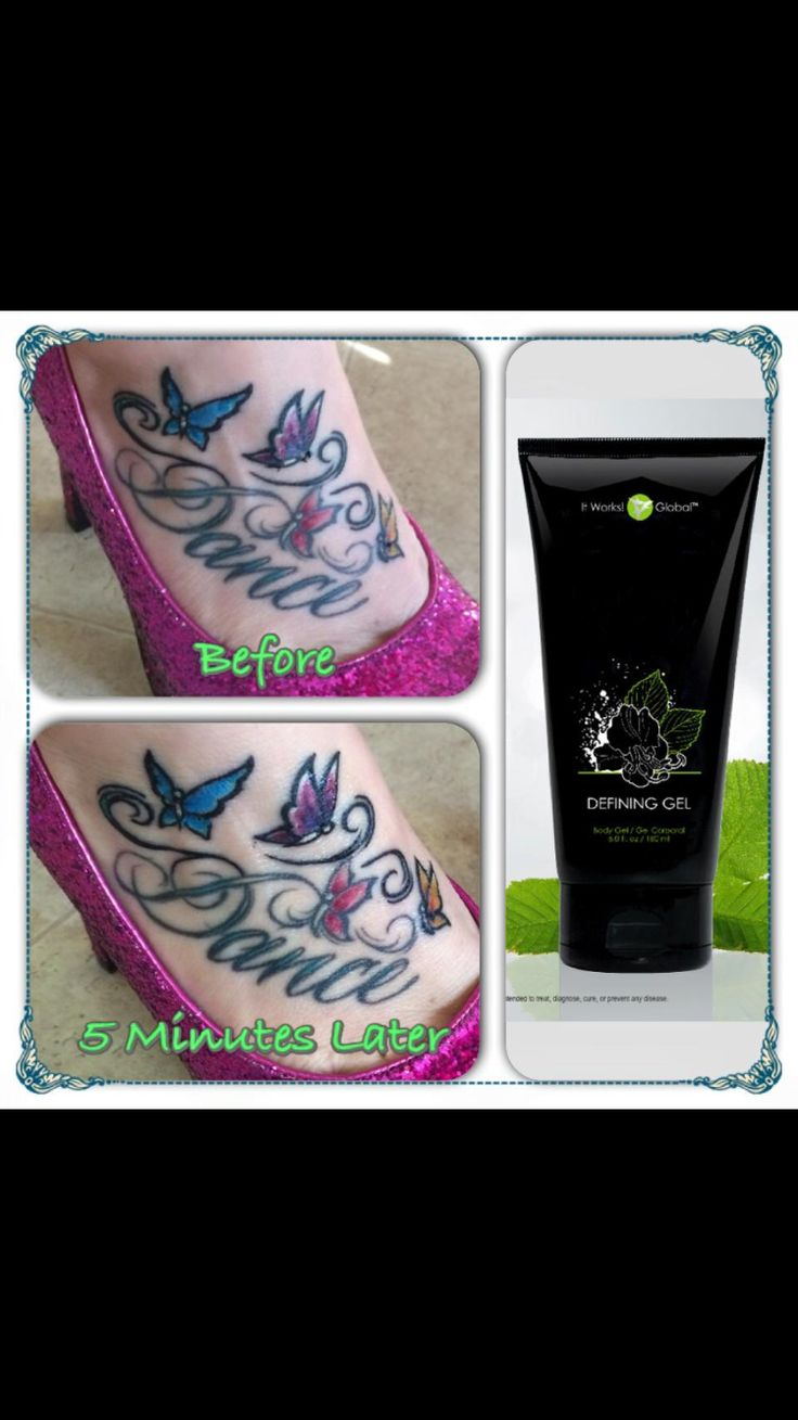 Brighten up your ink! Bring color back to your tattoos! It works defining gel will approve the appearance of even your oldest and most faded tattoos!