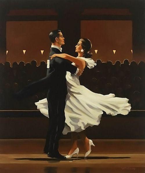 jack vettriano- I love his dancing paintings!                                                                                                                                                                                 More