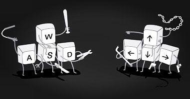 De esas épocas cuando tocaba compartir el teclado de la pc  (Sólo lo gamers entenderán)  #friday #humor #geekhumor #gamergirl #gamer