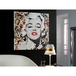 Cuadro moderno Marilyn Monroe .  #decoracion #casa #hogar #salon