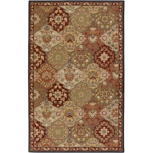 Surya CAE1034-912 Caesar 9' x 12' Rectangle Wool Hand Tufted Traditional Area Ru