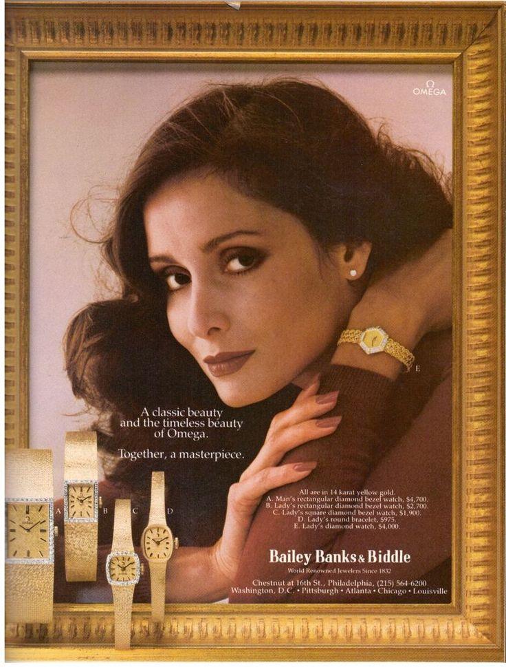 1980 Bailey Banks & Biddle Omega Watch Print Ad Vintage Advertisement VTG 80s | eBay