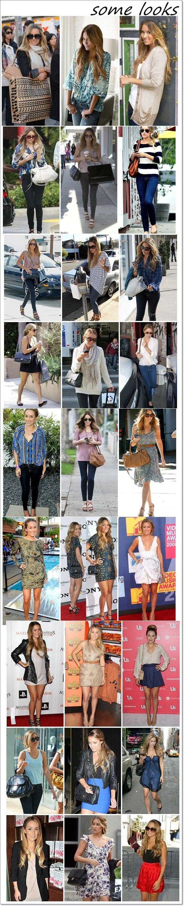 LAUREN CONRAD- always classy and cute