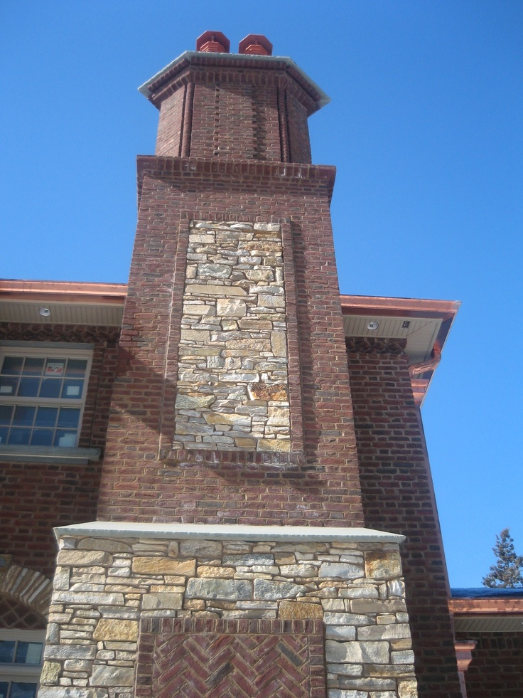how to clean interior brick chimney
