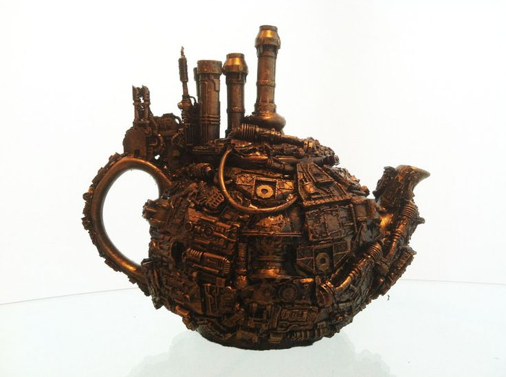 Steampunk Paper Punches Steampunk Teapot By Richard