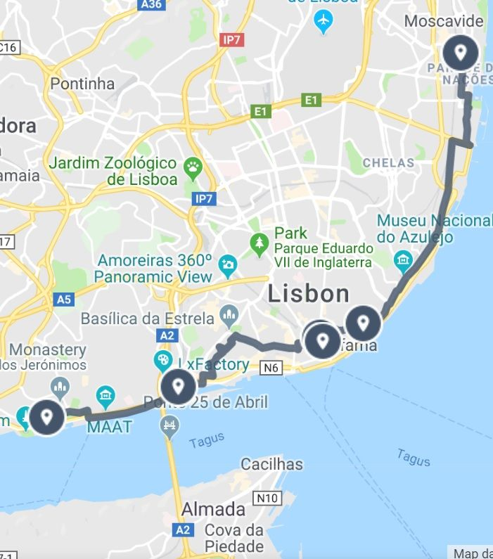 A Street Art Guide to Lisbon Map Guide | Lisbon, Walking map ... on delaware map, et map, wv map, bhi map, pa map, ja map, east coast map, nee map, az map, md map, madre map, usa map, zi map, ri map, ae map, golo map, fl map, vg map, uso map,