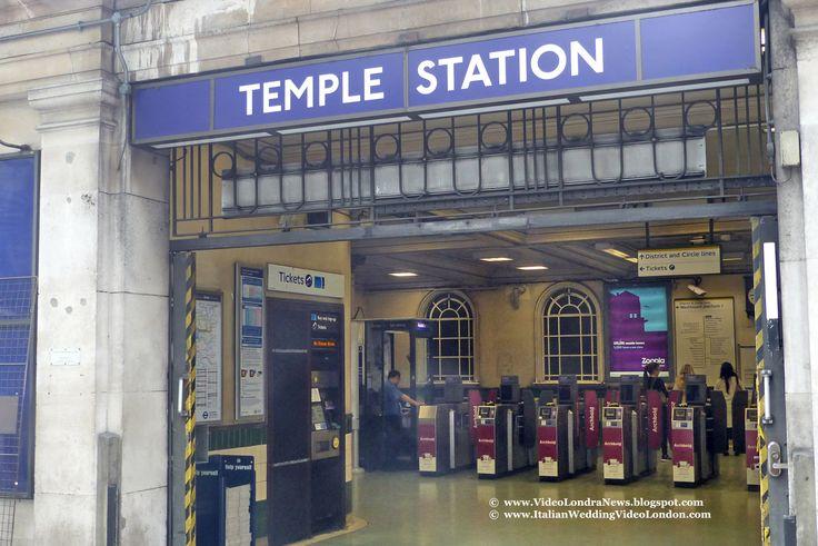 Temple Station *** Temple Church, a Londra la chiesa dei Templari *** #Londra #London #TempleChurch *** Ci troviamo nella City londinese e la chiesa dista soli 400 metri dalla Temple Station.