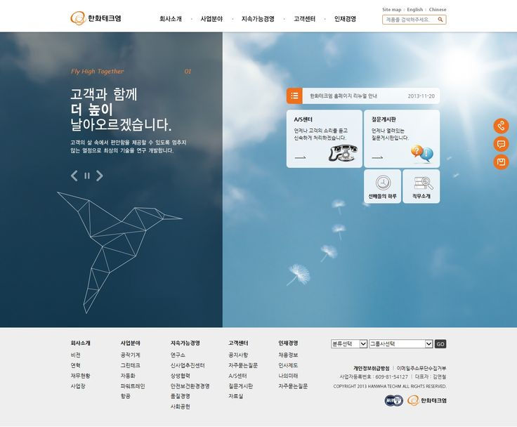 DCafeIn Website - Hanwha TechM