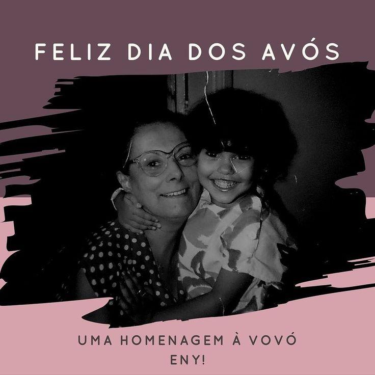 Que saudade dos abraços da vovó!  Lembro do cheirinho da sua pele e do seu toque macio... Seu carinho e sua voz cantando ao me fazer dormir... Esse ano ela se foi com doença de Alzheimer mas em compensação nos deixou muitas memórias boas! Aproveite se você tem avós ainda vivos para dar um grande abraço nesse dia!  #diadosavós #saudosismo #saudades #alegrias #carinhodevó #fazbemprapele #dicadodia #brasilia