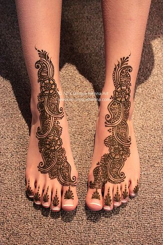 bridal mehndi feet - Google Search