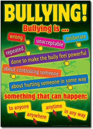 I would like to run anti-bullying seminars or classes in schools.   Especially in high schools,  really raise awareness and explain the implications.  Unfortunately not all students have a go-to plan to enforce if they are being bullied. I would be honoured if a student were to confide in me.  -Carla