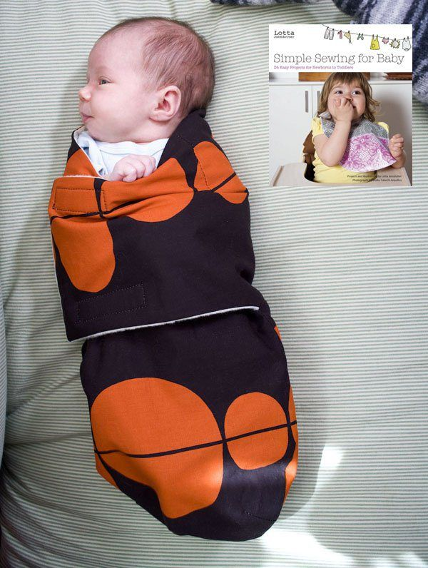Best of CRAFT Pattern: Snuggler Baby Swaddle - Make: | MAKE: Craft