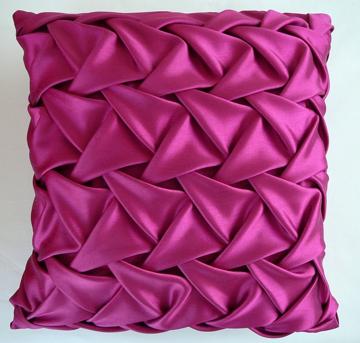Square Pink Smocked Cushion at Christopher Daniel.♥ See our range of fabulous cushions. http://www.christopherdaniel.co.uk/cushions/square-pink-smocked-cushion