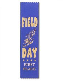 Field Day - I remember seeing other kids get these and they were all whoo hoo I did it. I'm like yeah and I sat here thru the whole thing and didn't die of boredom! :)