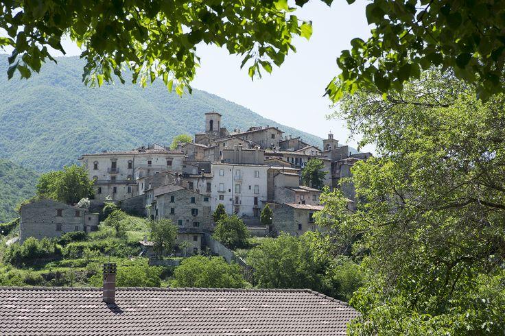 Scanno: a remote village in Abruzzo.
