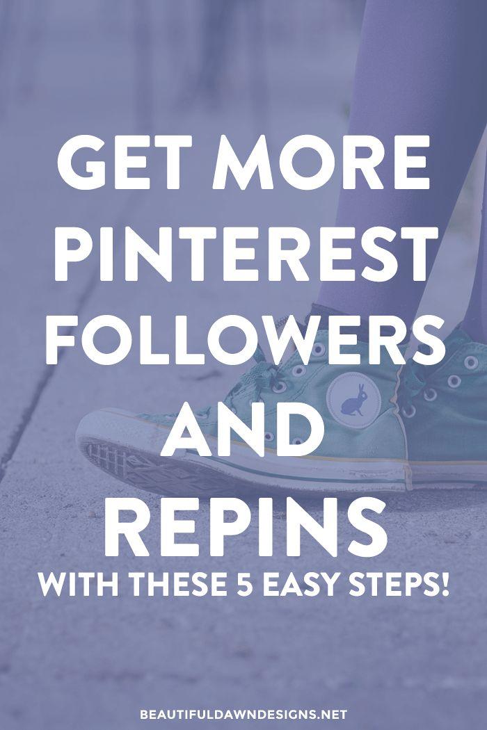 get more pinterest followers and repins beautiful dawn designs