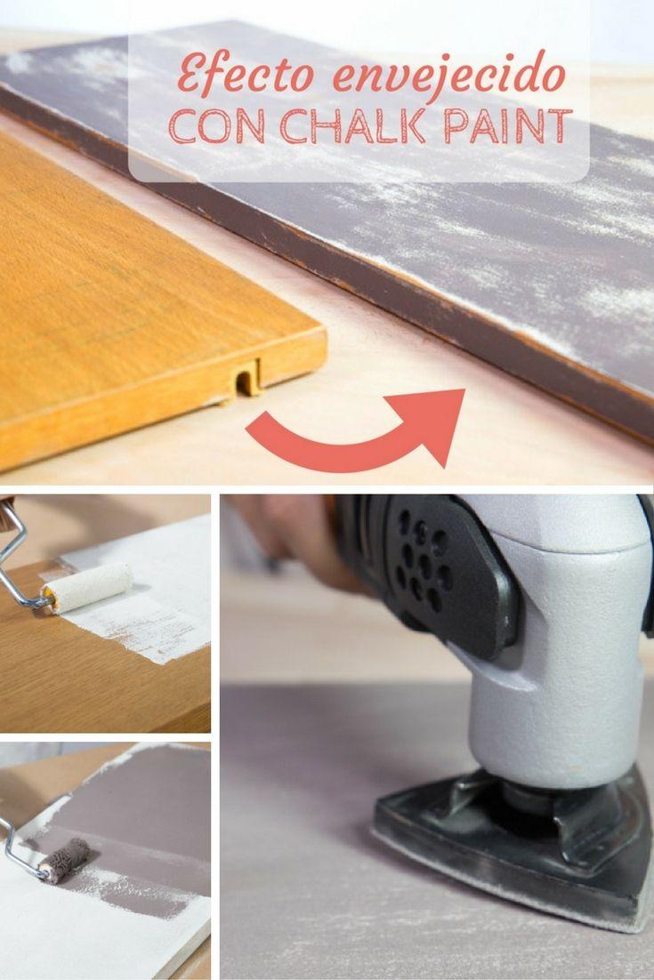 Aplicar Patina Para Envejecer Trendy Las Cajas De Fruta Las  # Muebles Efecto Desgastado
