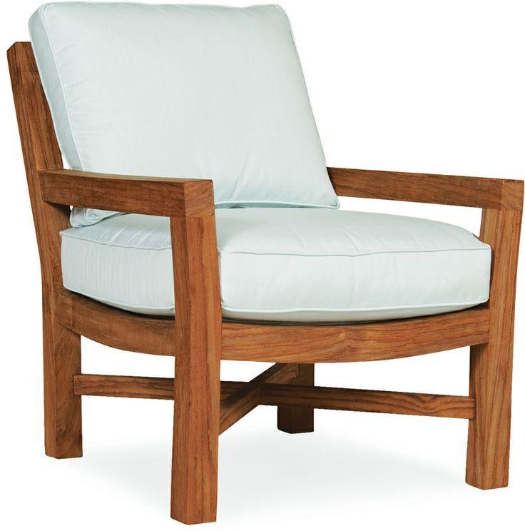 Lee Industries Teak Lounge Chair